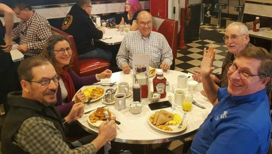 Breakfast at Joey's Diner