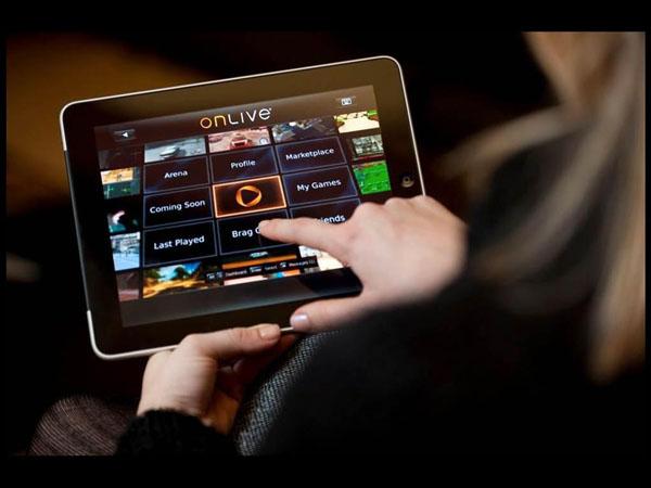 OnLive - iPad 1