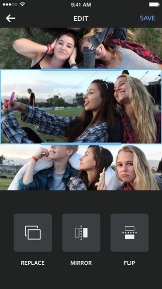 تطبيق Layout لدمج الصور بطريقة احترافية للأيفون والأندرويد نيوتك New Tech