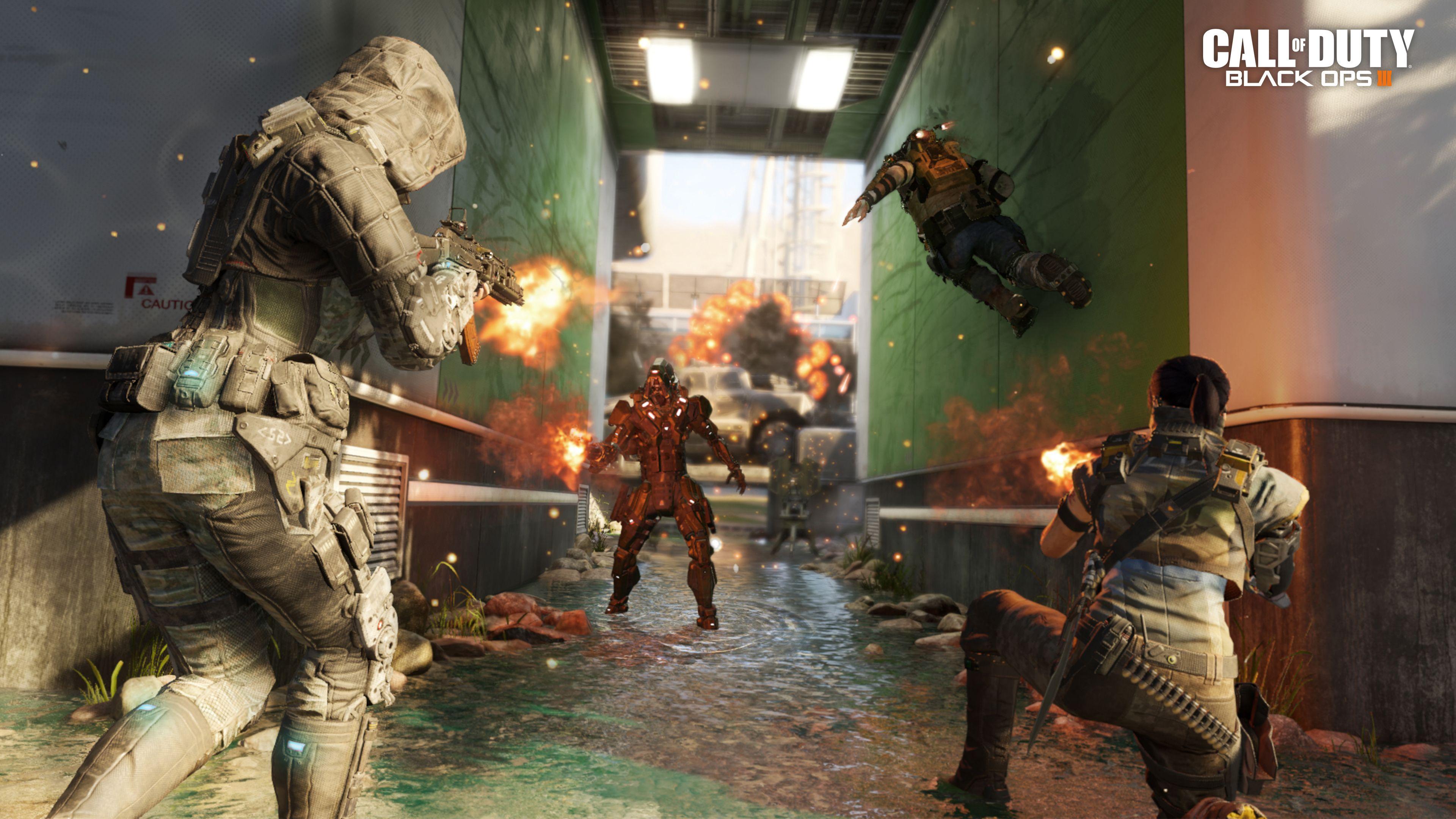 صور عالية الدقة من داخل لعبة Call Of Duty Black Ops 3 نيوتك New Tech