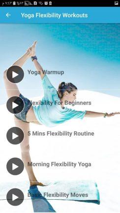 تطبيق رياضة اليوغا