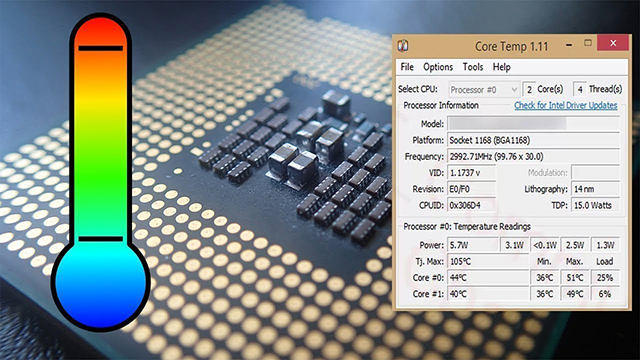 أفضل البرامج لقياس درجة حرارة الكمبيوتر والمعالج