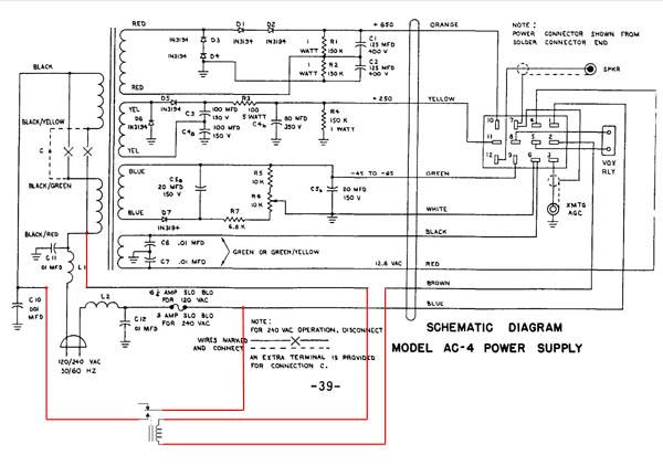 Drake AC-4 Power Supply Rebuild