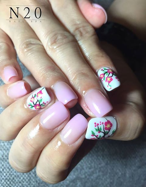 Home Nails Mother Daughter