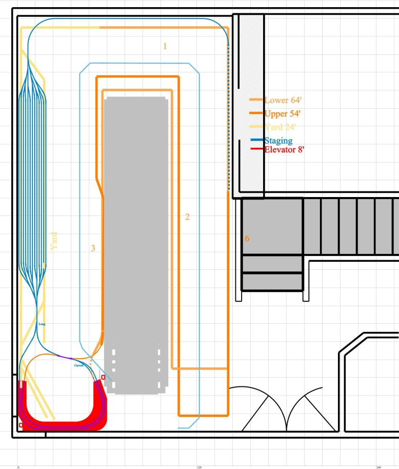 DRGW Mushroom layout