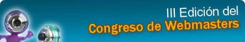 III Edición del Congreso de Webmasters 2009