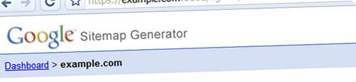 Lanzada la beta de Google Sitemap Generator