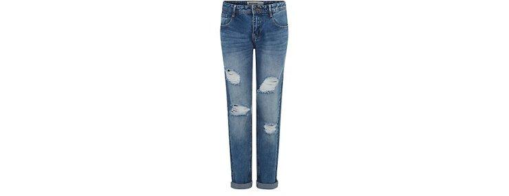 New Look Boyfriend Ripped Jeans