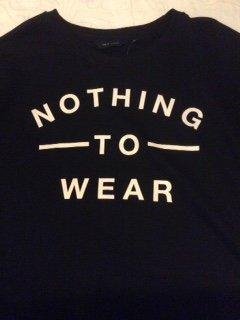 Nothing to Wear Sweatshirt, New Look £14.99