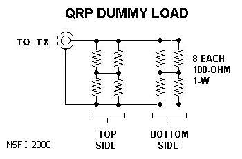 N5ESE's QRP Dummy Load