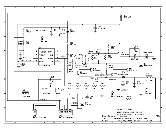 The Orion II A9 Power Distribution Board Problem and Fix
