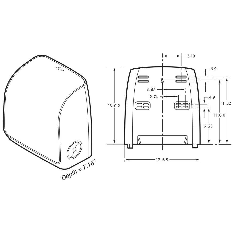 Scott® Control Slimroll™ Manual Towel Dispenser