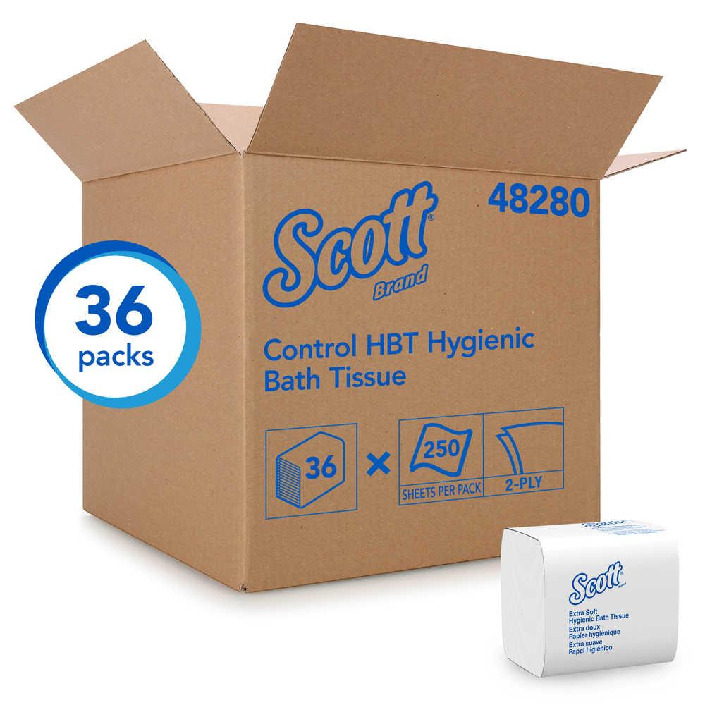 Scott Control HBT Hygienic Bath Tissue