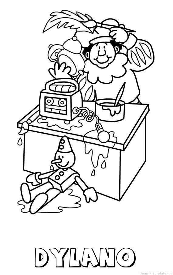 Kleurplaten Tractor Case.Dylano Naam Kleurplaten Auto Electrical Wiring Diagram