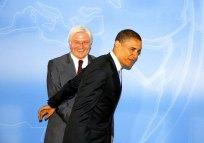 Barack Obama in Berlin mit Frank-Walter Steinmeier