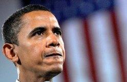 Barack Obama während seines ersten Präsidentschaftswahlkampfs