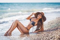 Sexy Girl am Strand