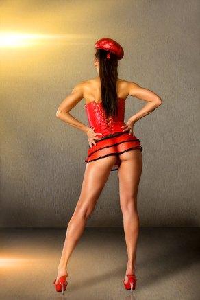 Sexy Burlesque Girl