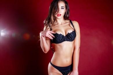 Sexy Girl im Studio