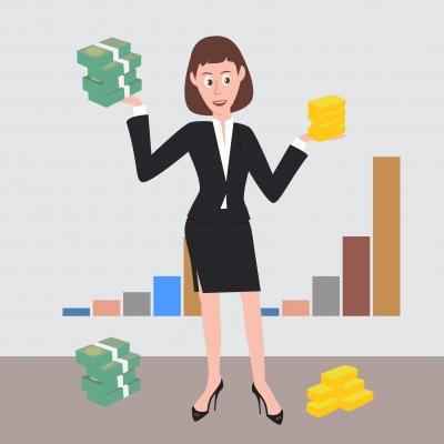 Women's bank account