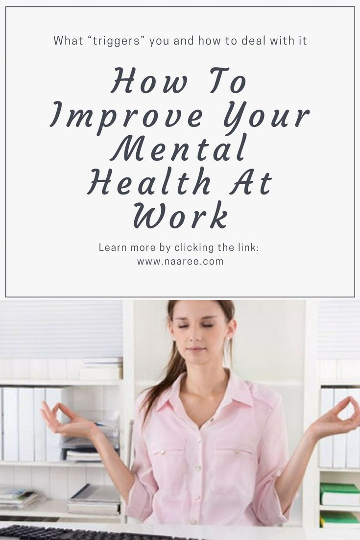 60-percent of employees actually experience mental health issues in 2016 due to workplace-induced stress and anxiety. This means maintaining your mental health in the workplace is essential not just to ensure productivity, but to also maintain a good work-life balance. Here are some tips on how to improve your mental health at work. #mentalhealth #workplace #stress #anxiety