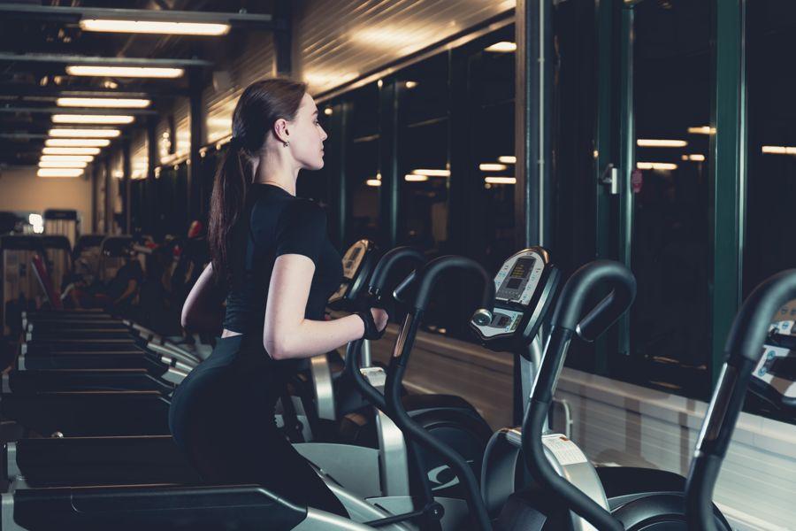Elliptical cardio workout