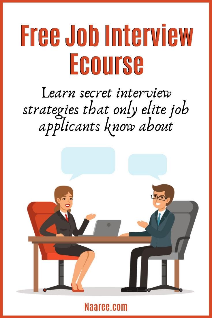 Free Job Interview Ecourse