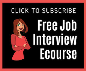 Free Job Interview Email Course