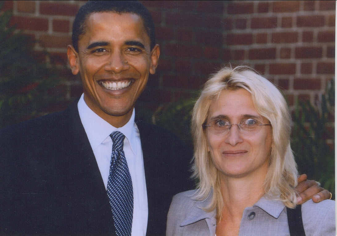 2004 Nadine Hack Barack Obama US Senate primary