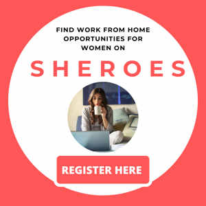 SHEROES Work From Home Opportunities