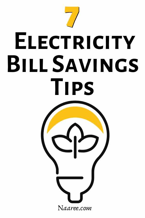 electricity bill savings tips