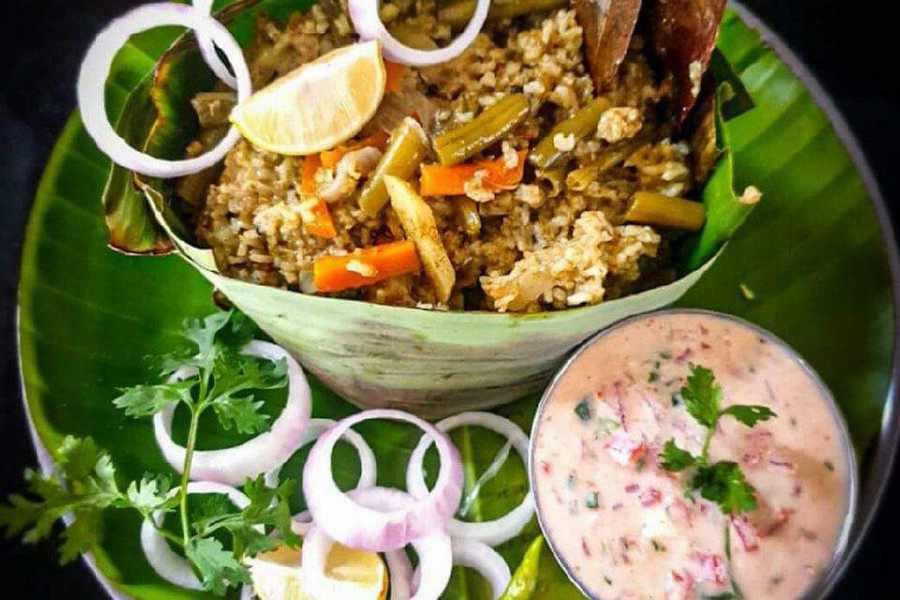 south indian biryani recipe