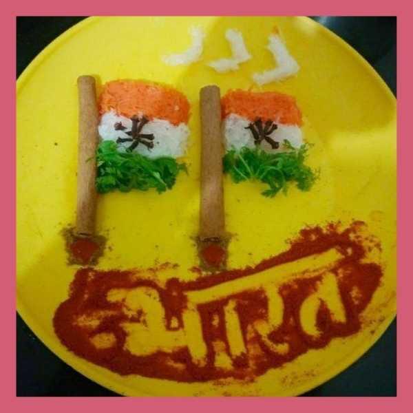 indian flag salad recipe