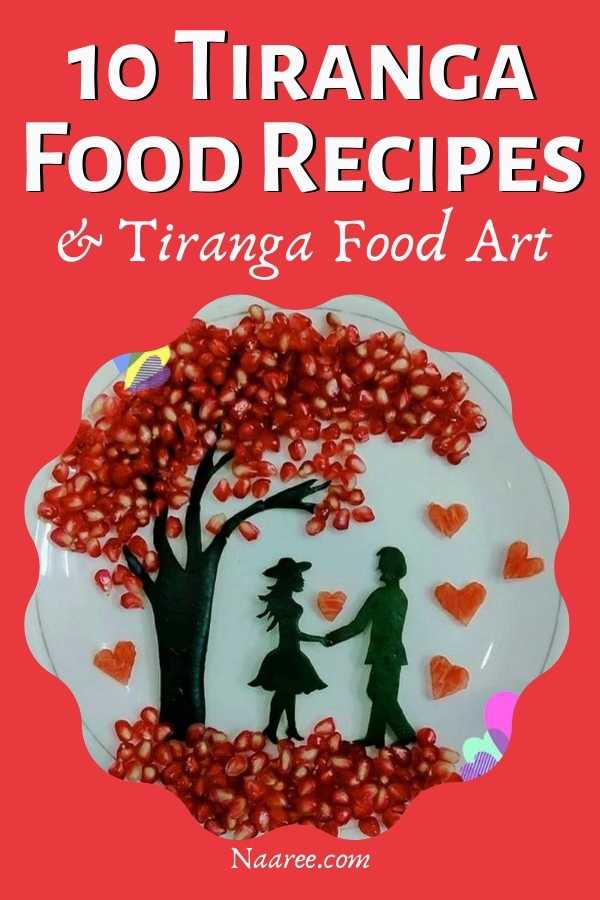 tricolor food ideas for kids