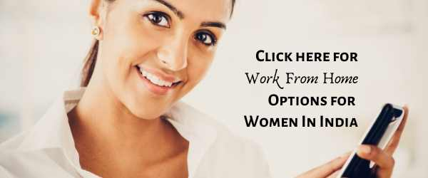 WFH Jobs In India