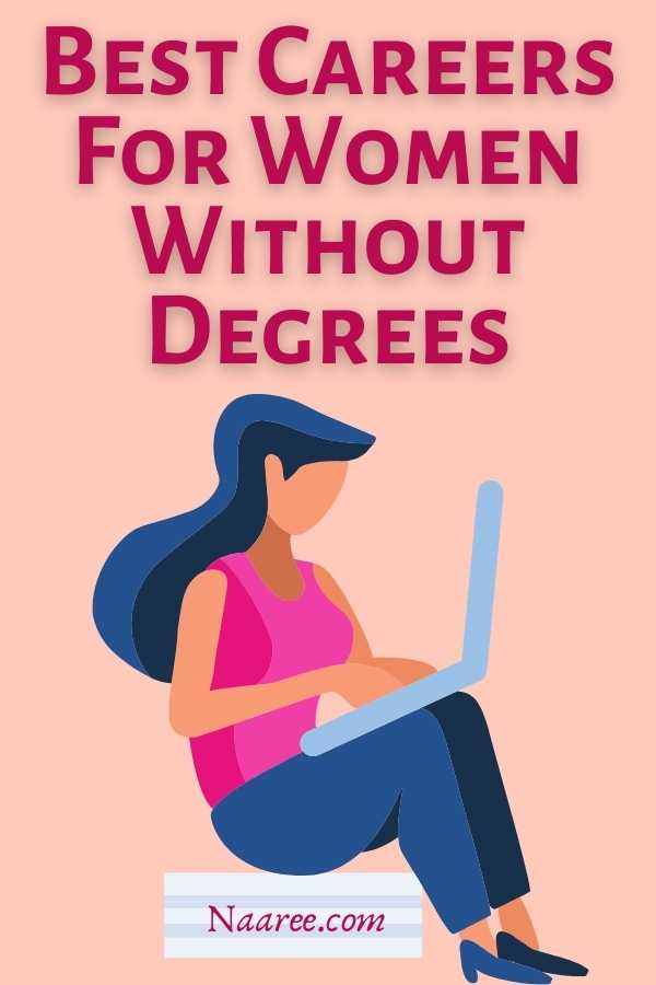 best careers for women without degrees