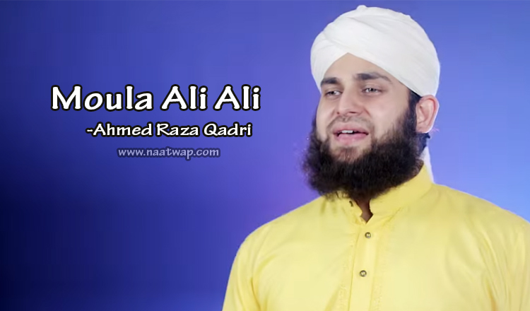 Moula Ali Ali By Ahmed Raza Qadri