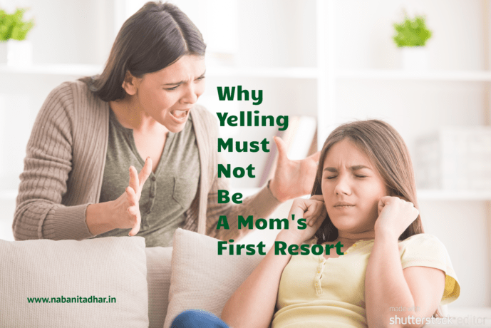 Do You Find Yourself Yelling at your kids? I know I do. So many times that it's amazing she still loves me. Here is one instance where I realised how wrong I was and how I should stop to think and not yell at the drop of a hat. Do share what you think. #PositiveParenting #YellFree #PeacefulParent #ParentingTips #GentleParenting