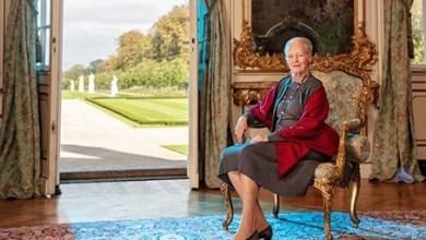 صورة الملكة تشكر الدنماركيين في عيد ميلادها الـ 80