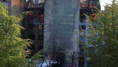 صورة إمام دنماركي: الحريق لم يستهدف المسجد ولا نعرف هوية الفاعل