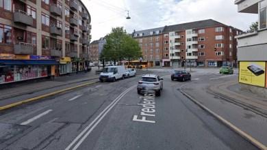 صورة طعن رجل ليل السبت في أحد شوارع شمال غرب كوبنهاجن