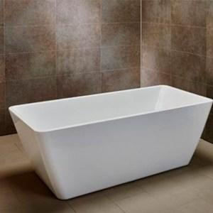 ACRYLIC FREESTANDING BATHTUB WWASTE1