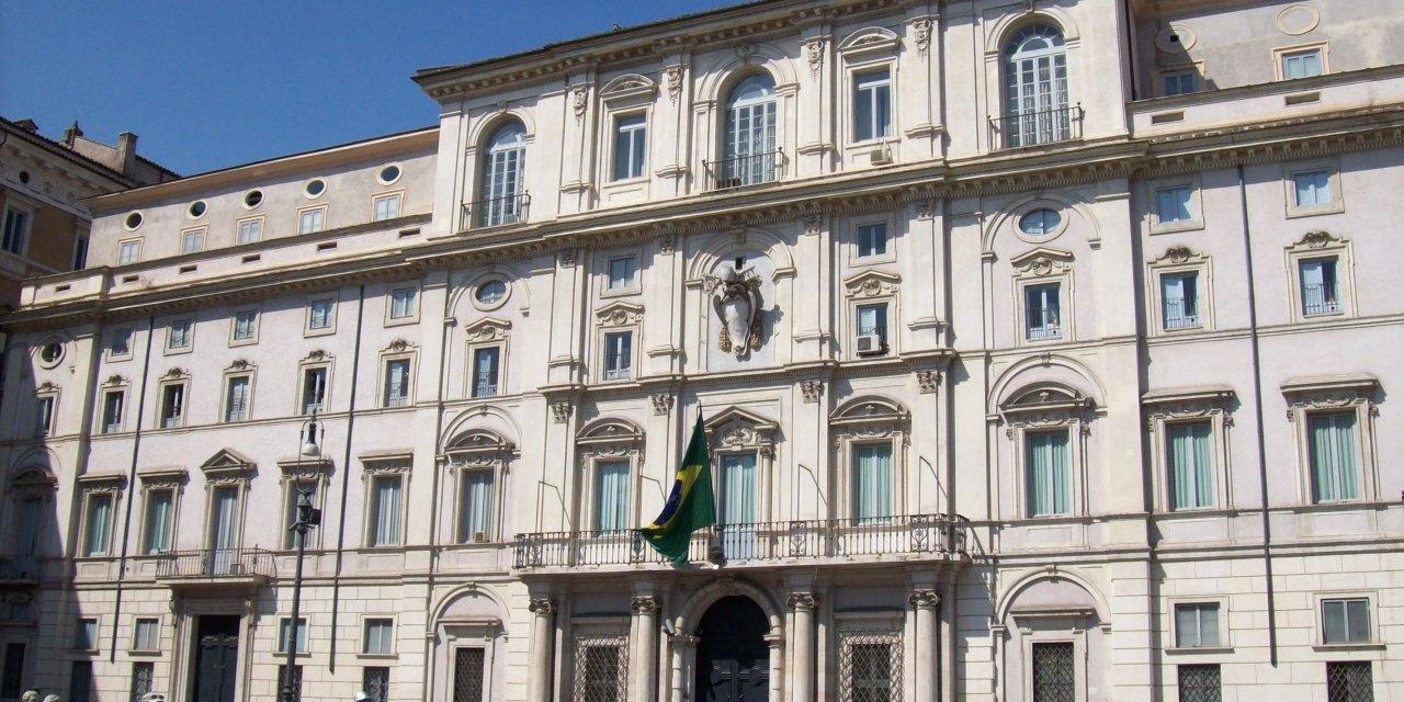 Una giornata all'Ambasciata del Brasile