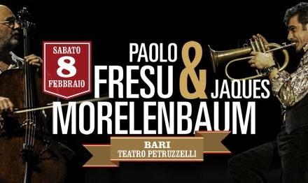 Fresu e Morelenbaum insieme sul palco del Petruzzelli