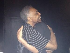 Abraço Gil e Marisa
