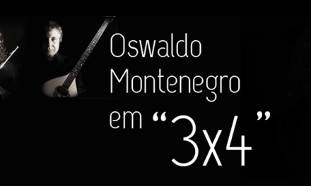 Oswaldo Montenegro regala al pubblico 3×4, guarda il video.