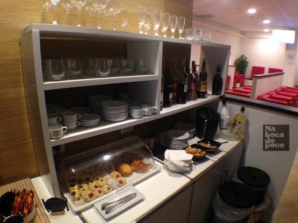 Lounge TAP Roma buffet 2