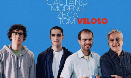 Caetano Veloso prepara una tournée con i figli Moreno, Zeca e Tom