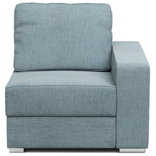 armless chair uk dutailier rocking cushions armchairs modular and chaise nabru alda armchair