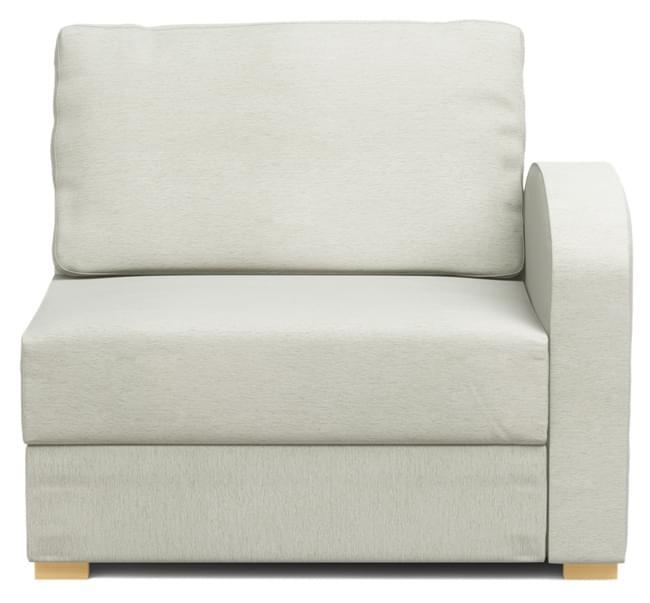 armless chair uk single person hammock armchairs modular and chaise nabru ula armchair